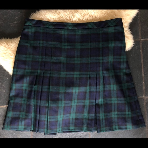 28f57b3f1a5e8 Brooks Brothers Dresses   Skirts - Brooks Bros Women s plus size pleated  plaid skirt